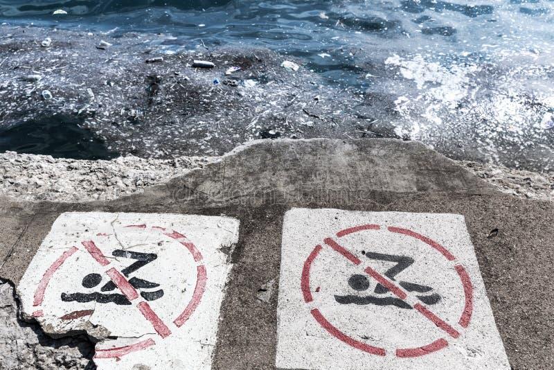 Ambiente di ecologia del pericolo fotografia stock libera da diritti