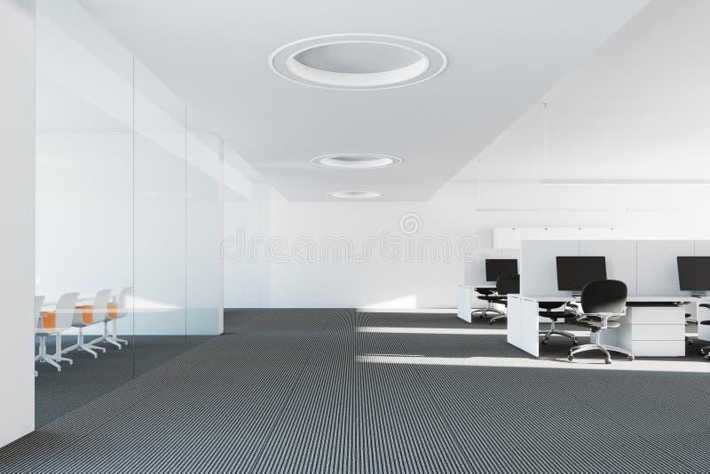 Ambiente moderno de la oficina ilustración del vector
