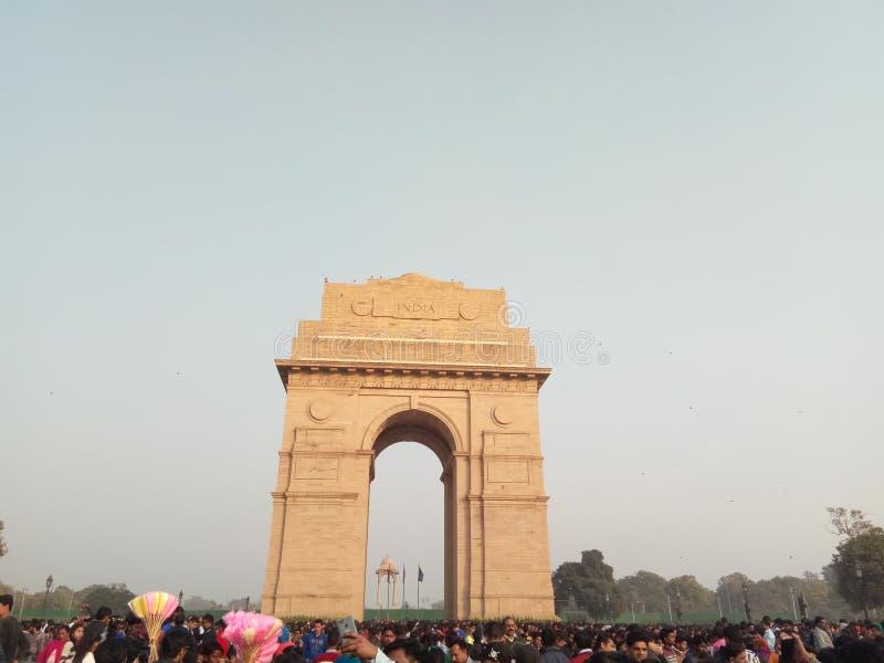 Ambiente piacevole di Delhi il più bene immagini stock