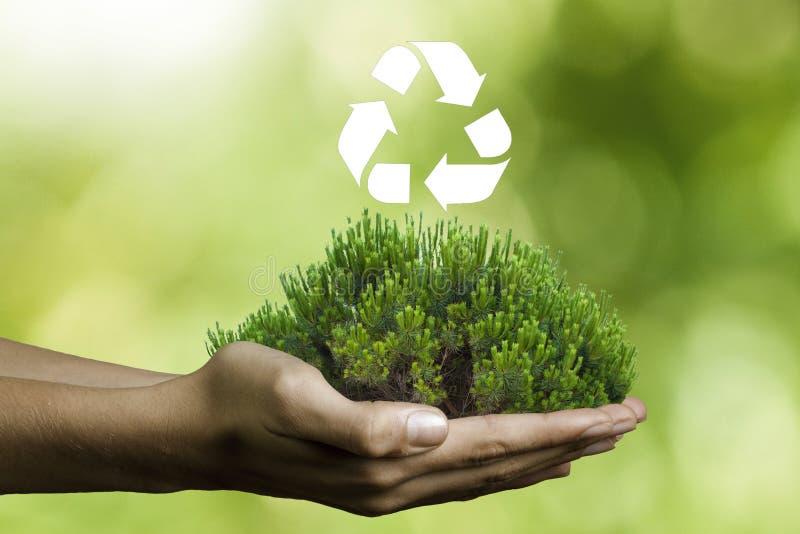 Ambiente y reciclaje imagen de archivo libre de regalías