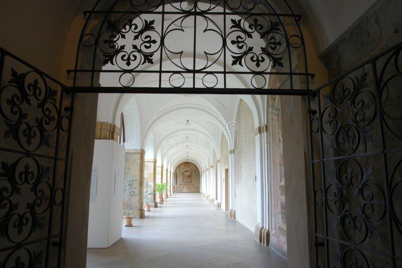Ambit des Kloster-Gebäudes, Strahov-Kloster, Prag lizenzfreies stockbild