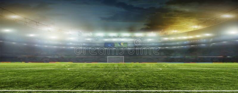 Ambiti di provenienza astratti di calcio o di gioco del calcio immagini stock libere da diritti