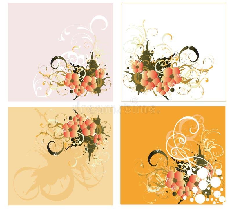 Ambiti di provenienza decorativi royalty illustrazione gratis