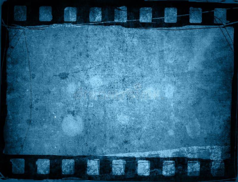 Ambiti di provenienza della striscia della pellicola di Grunge illustrazione vettoriale