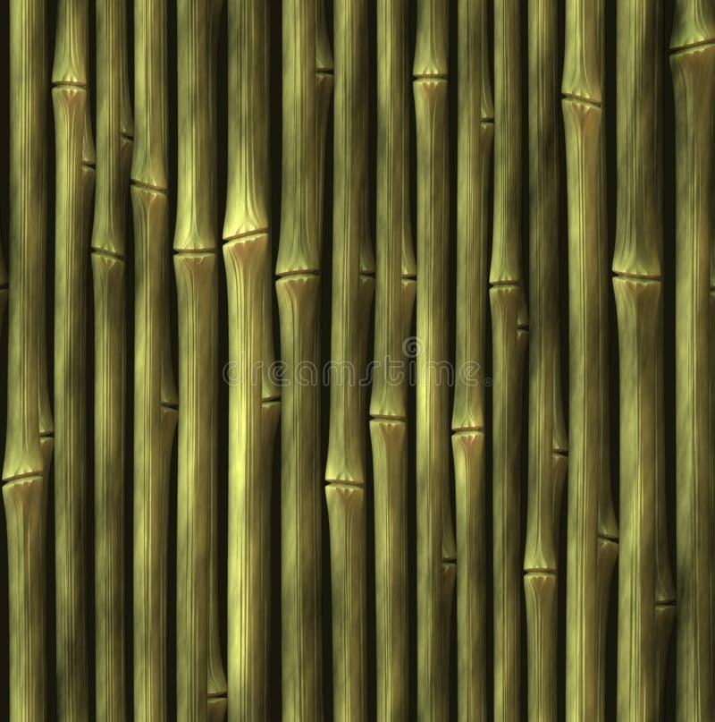 Ambiti di provenienza di bambù del recinto. modello astratto immagini stock