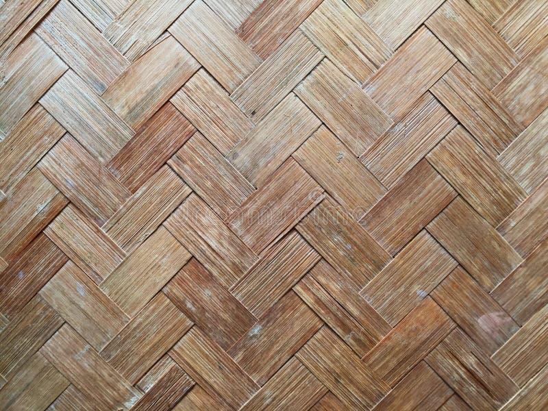 Ambiti di provenienza di bambù di struttura della parete fotografia stock