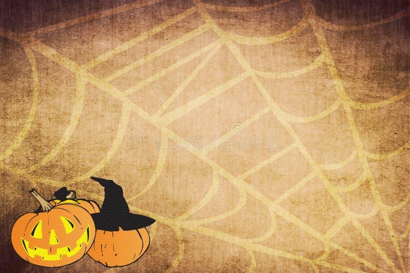 Ambiti di provenienza di Halloween illustrazione vettoriale