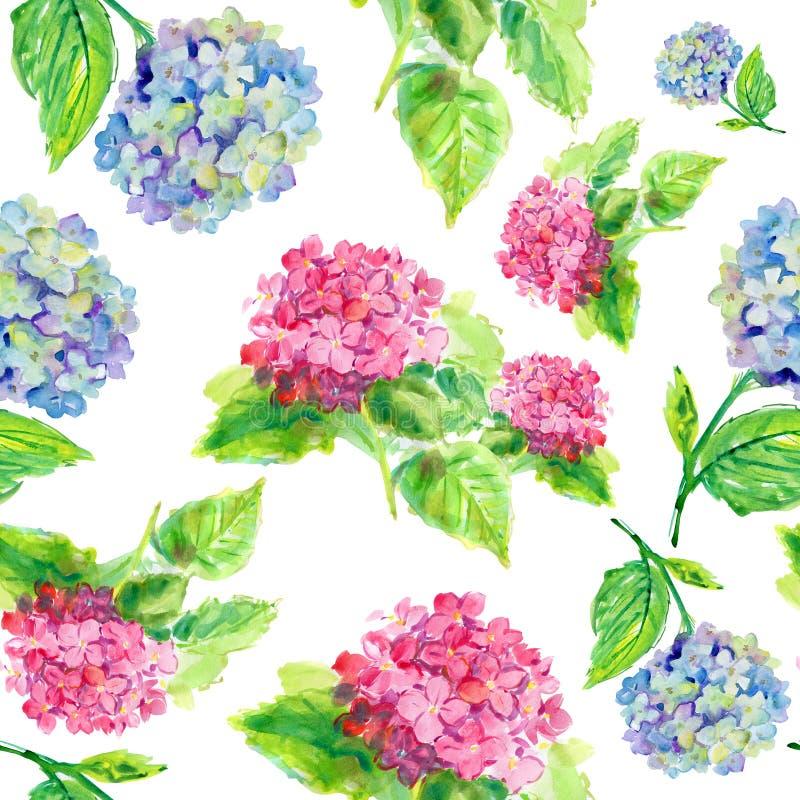 Modello di fiori illustrazione vettoriale