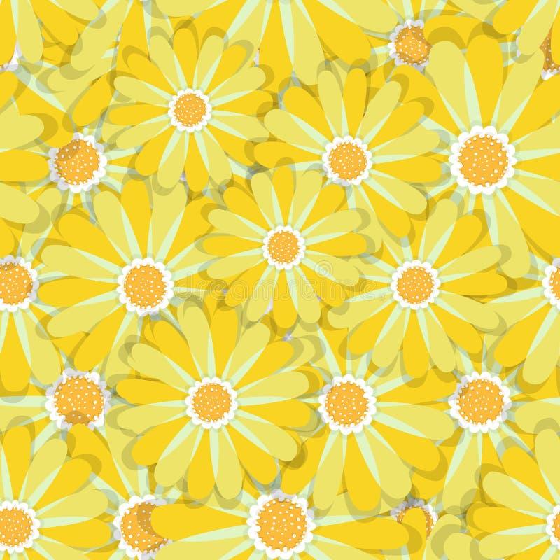 Ambiti di provenienza floreali Modelli senza cuciture per il tessuto e le carte da parati royalty illustrazione gratis
