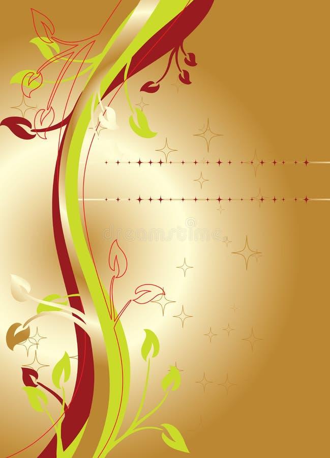 Ambiti di provenienza floreali, vettore illustrazione di stock