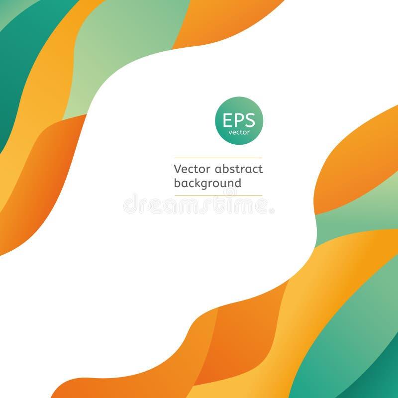 Ambiti di provenienza geometrici di vettore illustrazione di stock