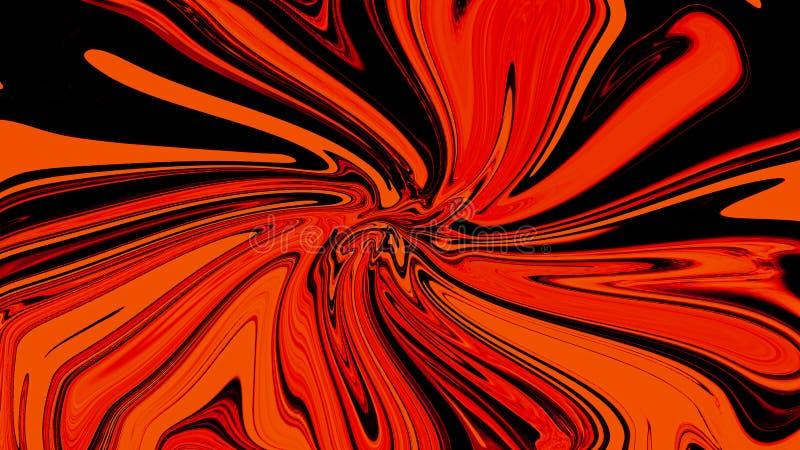 Ambiti di provenienza liquidi d'avanguardia di pendenza dell'estratto dell'onda per la copertura, aletta di filatoio, opuscolo, m illustrazione di stock