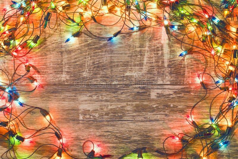 Ambiti di provenienza 2018 di Natale fotografia stock libera da diritti