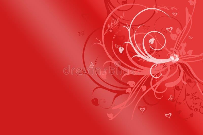 Ambiti di provenienza per il giorno dei biglietti di S. Valentino illustrazione di stock