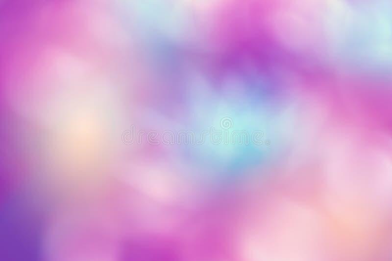 Ambiti di provenienza vaghi variopinti, fondo multicolore astratto della sfuocatura, fondo porpora fotografia stock