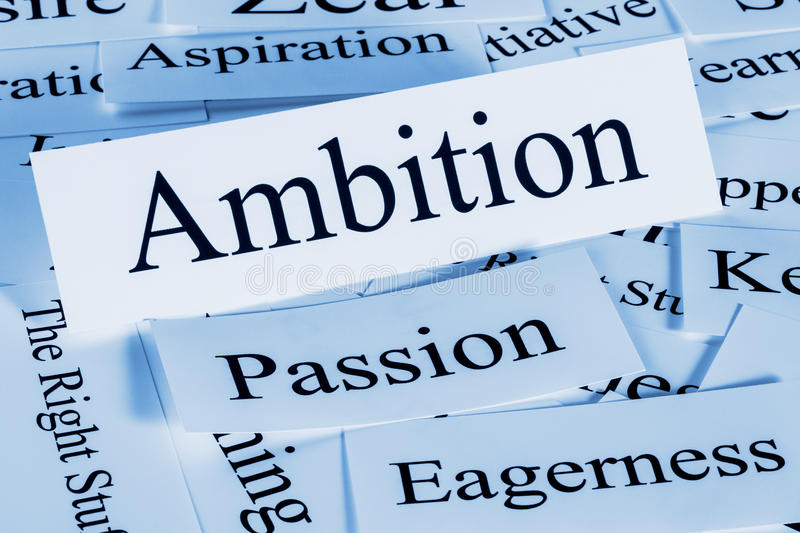 Ambition. A conceptual look at royalty free stock photos