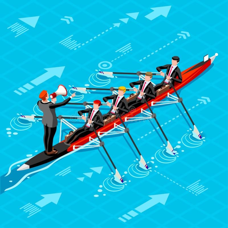 Ambitious business change Career Ambitions vector concept. Business concept infographic vector design. Businessperson 3D character flat ambitious man. Career stock illustration