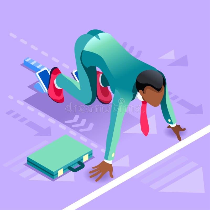 Ambitious business change 69 Job Ambitions vector concept. Business concept infographic vector design. Businessperson 3D character flat ambitious man. Job vector illustration