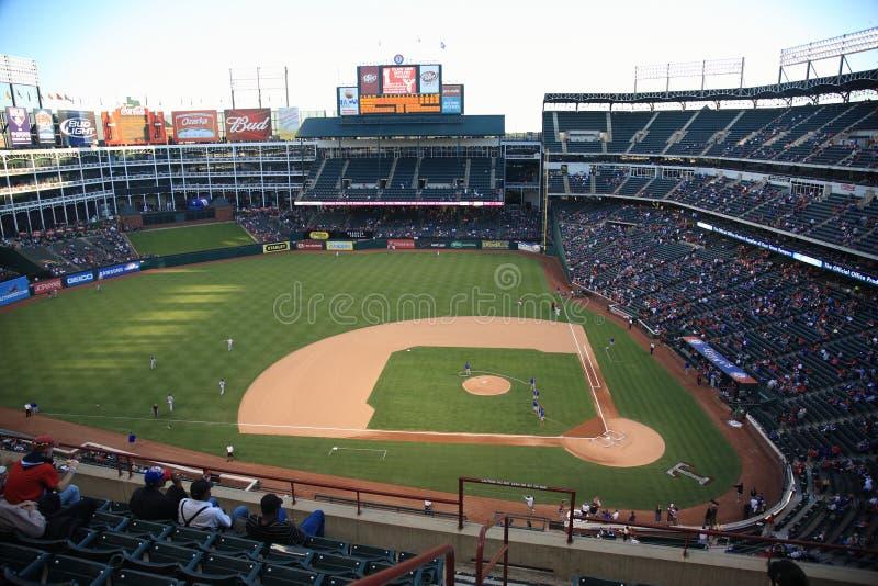 Ambito dei Texas Rangers a Arlington fotografia stock