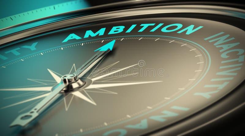 ambizione illustrazione di stock