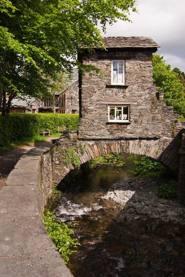 Free Ambleside Bridge House Stock Photo - 17895450