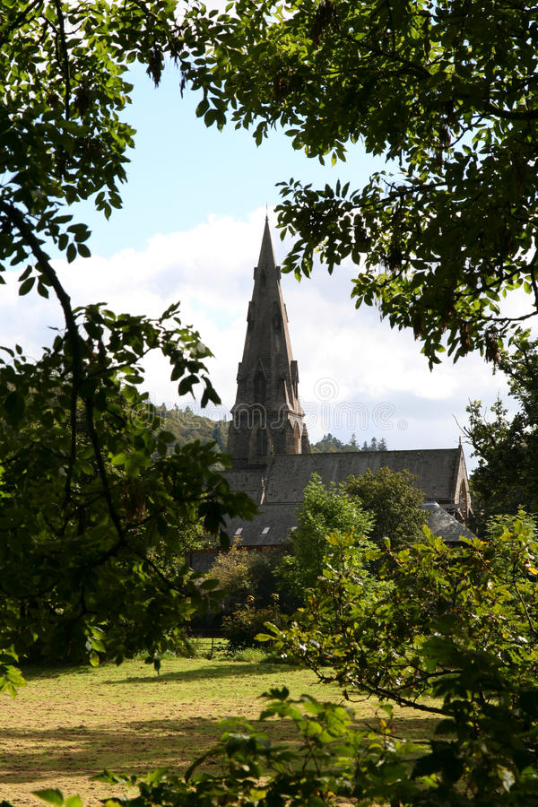 Free Ambleside Church. Royalty Free Stock Image - 14356446