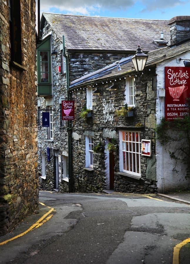 Ambleside, Cumbria images stock