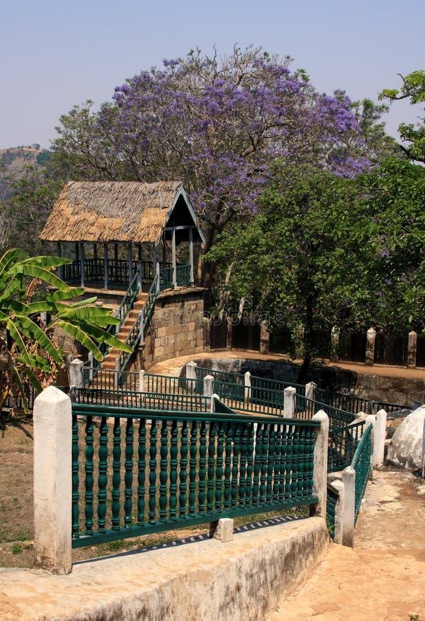 ambohimanga pałac królewski zdjęcie stock