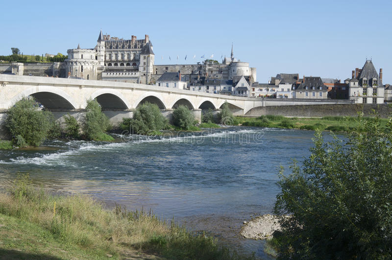 Download Amboise stock photo. Image of history, famous, river - 26929180