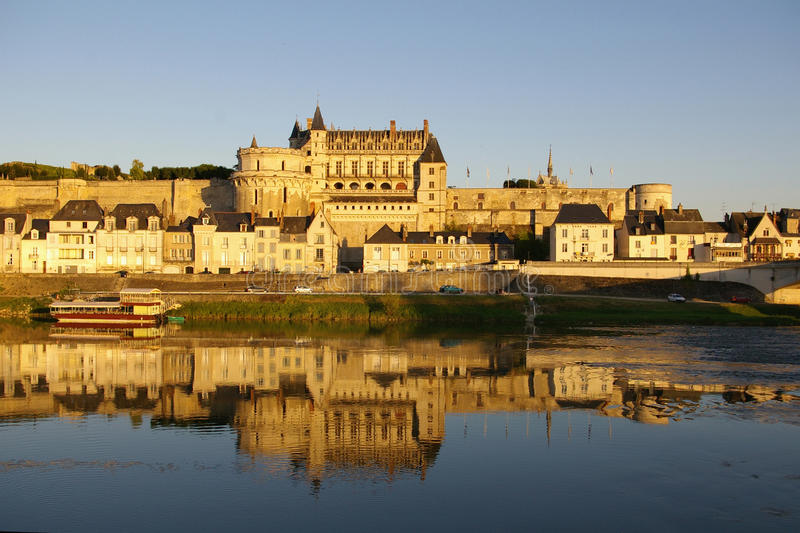 Download Amboise castle stock photo. Image of landscape, famous - 12812666