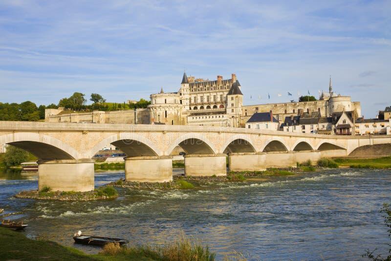Download Amboise Chateau And Old Bridge Stock Photo - Image: 13290366