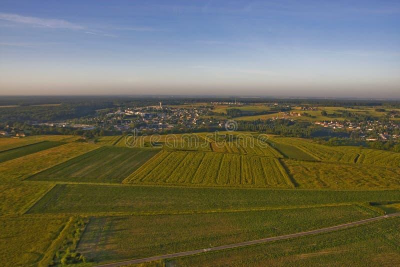 Amboise - flyg- sikt fotografering för bildbyråer