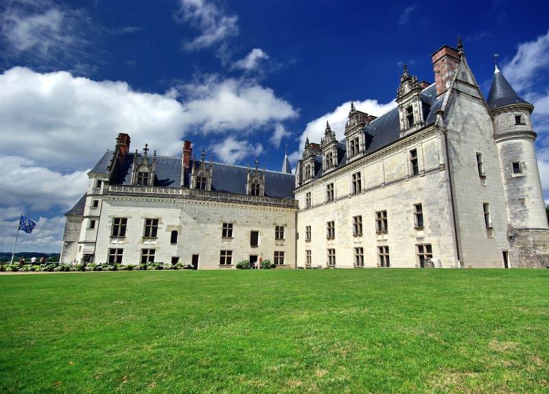 Amboise-Schloss lizenzfreies stockfoto