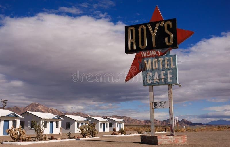 amboy Kalifornien route för 66 fotografering för bildbyråer
