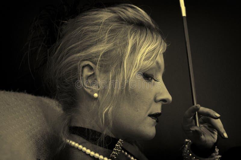 Ambrotype Portrait stockfotos