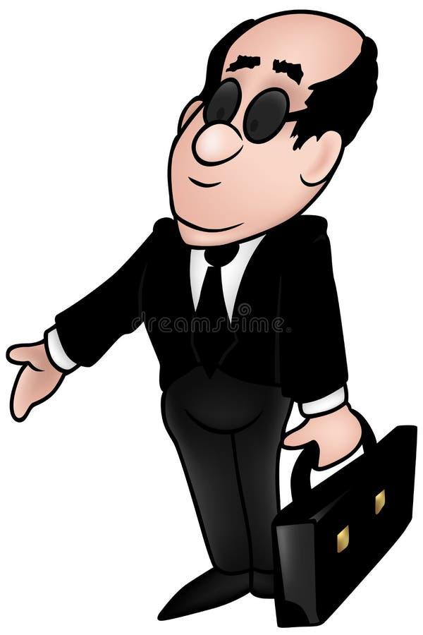 Ambtenaar stock illustratie