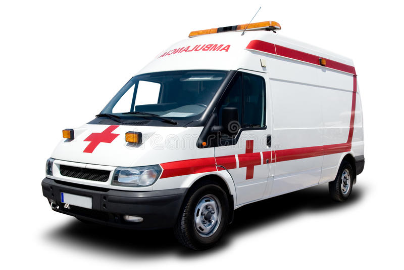 Ambulância fotografia de stock
