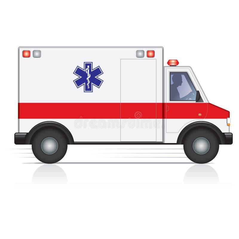 Ambulância ilustração royalty free