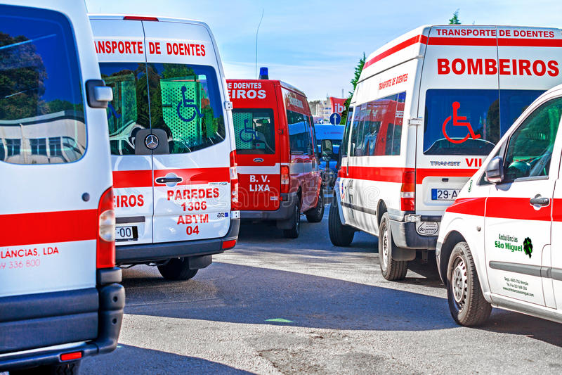 ambulâncias imagens de stock