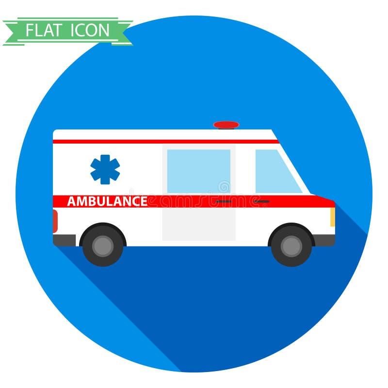 Ambulâncias do ícone ilustração royalty free