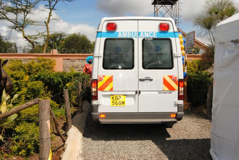 Ambulance à Nairobi Kenya photographie stock