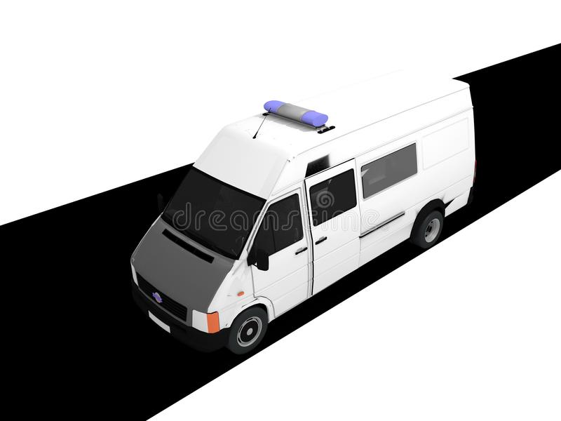 Ambulance illustration de vecteur