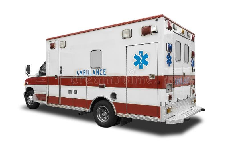 Ambulance. An Ambulance on White royalty free stock image