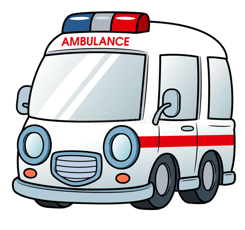 Ambulance. Vector illustration of Ambulance royalty free illustration