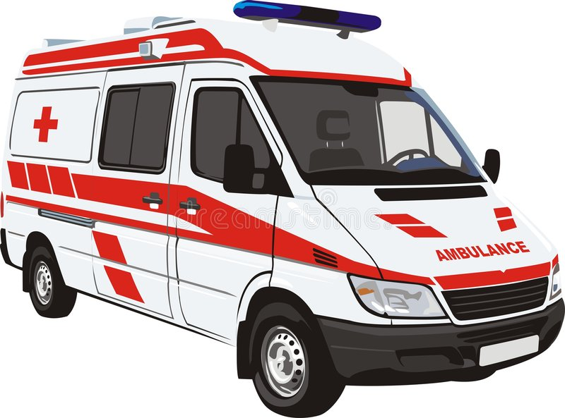 Ambulance vector illustration
