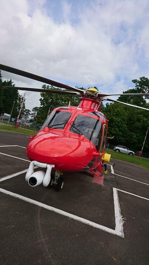 Ambulance aérienne photo stock