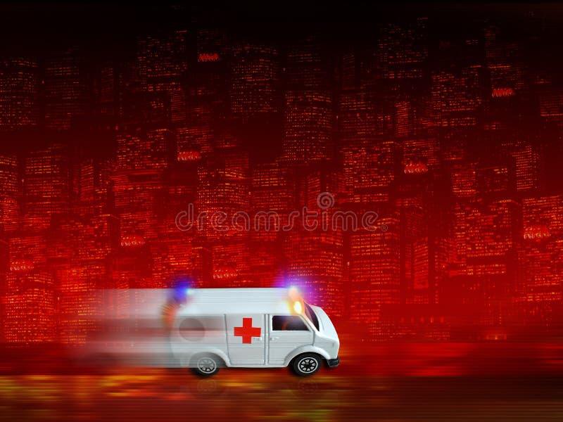 Ambulance background