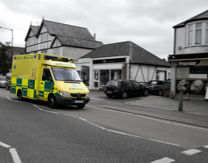 Ambulance on call royalty free stock images