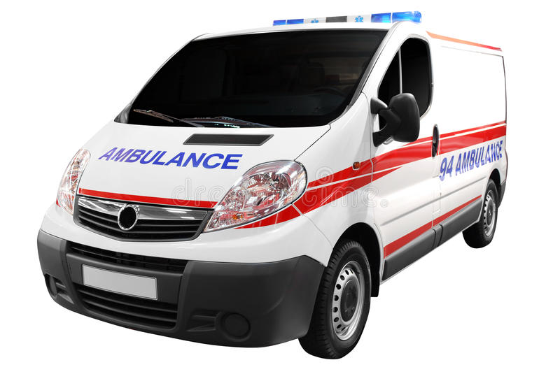 Download Ambulance car isolated stock photo. Image of service - 14672908