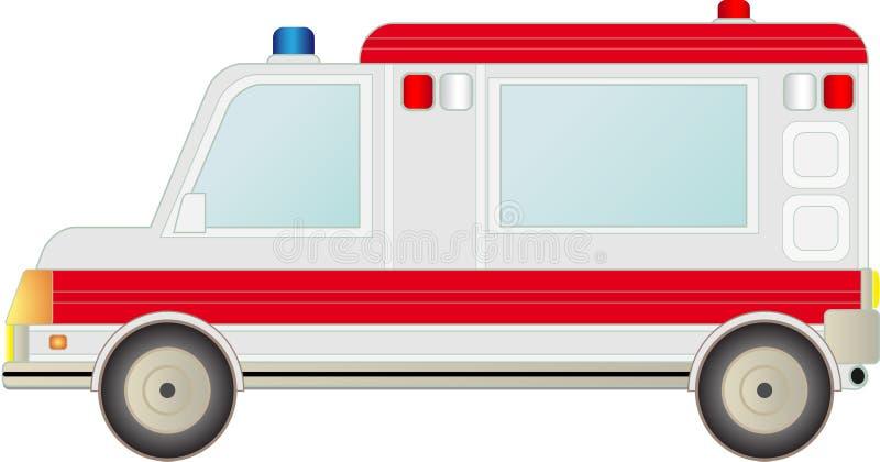 Ambulance Car Isolated Royalty Free Stock Photography